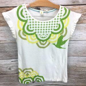 Anthropologie | Little Yellow Button T Shirt Bird